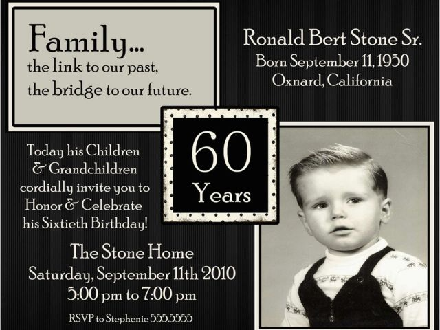 Download By SizeHandphone Tablet Desktop Original Size Back To 60th Birthday Invitation Wording Samples