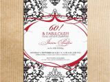 60th Birthday Invitations for Her 20 Ideas 60th Birthday Party Invitations Card Templates
