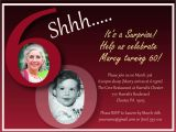 60th Birthday Invitations for Her 60th Birthday Invitation Templates Best Template Collection