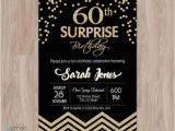 60th Birthday Invitations for Her Surprise 60th Birthday Invitations 60th Surprise Birthday