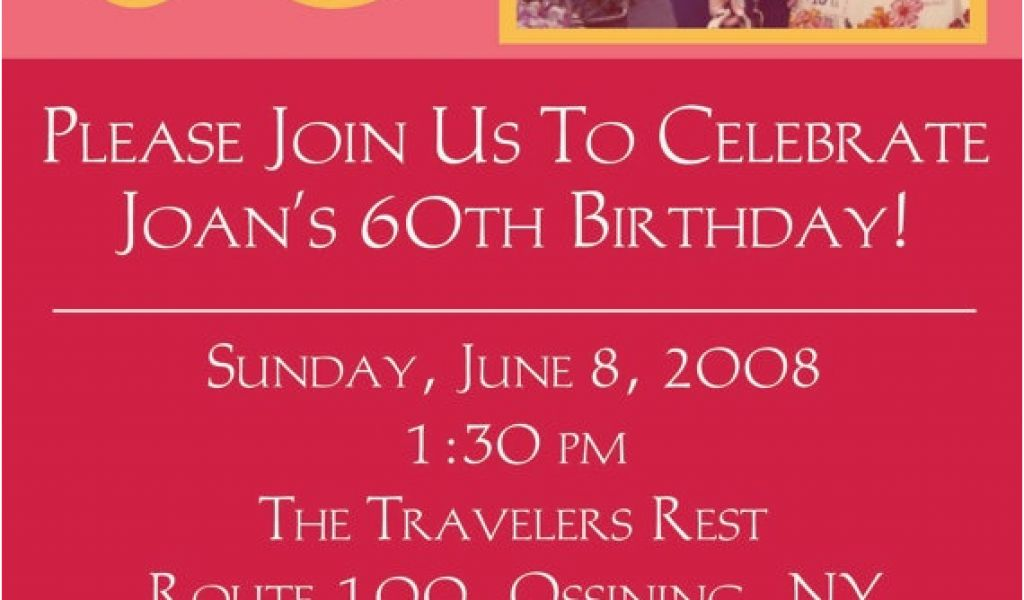 Download By SizeHandphone Tablet Desktop Original Size Back To 60th Birthday Invitations