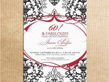 60th Birthday Invitations for Women 60th Birthday Invitations for Women
