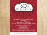 60th Birthday Invitations for Women Birthday Invites 60th Birthday Party Invitations Adult