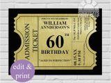 60th Birthday Invitations Templates 23 60th Birthday Invitation Templates Psd Ai Free