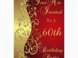 60th Birthday Invitations Uk 60th Birthday Party Personalised Invitation 13 Cm X 18 Cm