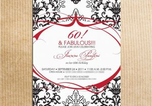 60th Birthday Party Invitations For Her 20 Ideas Card Templates