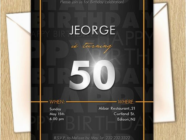 Download By SizeHandphone Tablet Desktop Original Size Back To 60th Birthday Party Invitations For Him