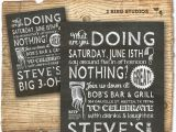 60th Birthday Party Invitations for Him Others Personalize Your Own 60th Birthday Invitations for