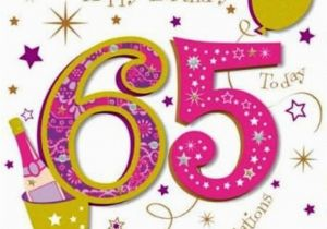65th Birthday Cards Free 48 Wishes