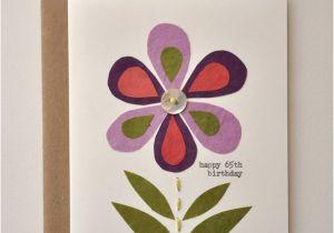 65th Birthday Cards Free Card Handmade Greeting Happy