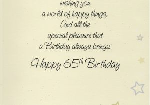 65th Birthday Cards Free Happy Greeting Card Lovely Greetings