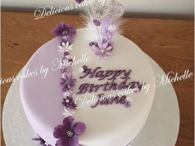 65th Birthday Flowers Best 25 Cakes Ideas On Pinterest