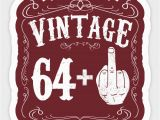 65th Birthday Gifts Male Vintage Middle Finger Salute 65th Birthday Gift Funny 65