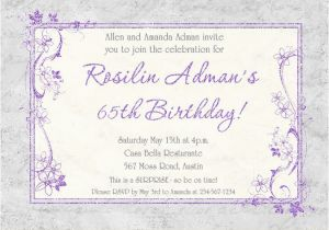 65th Birthday Invitation Wording 66 Best Images About Spring Party Invitations Ideas On