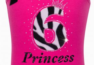 6th Birthday Girl Outfits Girls 6th Birthday Outfit Zebra Hot Pink Tank top Shirt 6