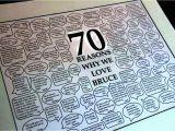 70 Birthday Card Ideas 70th Birthday Card Ideas Template Update234 Com