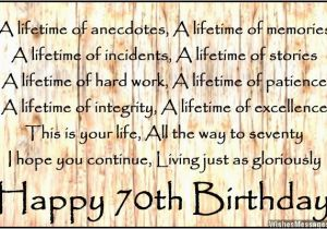 70 Birthday Card Sayings 70 Year Old Birthday Quotes Quotesgram