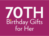 70 Birthday Gifts for Her 70th Birthday Gifts at Find Me A Gift