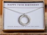 70 Birthday Gifts for Her Gifts for Her 70th Birthday Gift Ftempo