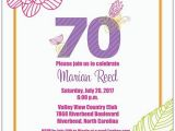 70 Birthday Invitation Wording 15 70th Birthday Invitations Design and theme Ideas
