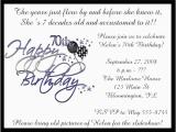 70 Birthday Invitation Wording 70 Birthday Party Invitations