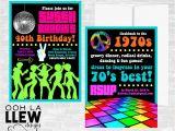 70 Birthday Invites 70s Birthday Invitations Best Party Ideas