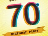 70 Birthday Invites 70th Birthday Invitations Free Templates
