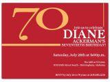 70 Birthday Invites Big 70 Cherry Birthday Invitations Paperstyle