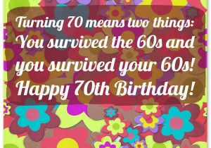 70 Year Old Birthday Card Sayings 70th Wishes And Messages Wishesquotes