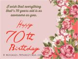 70 Year Old Birthday Cards 70th Birthday Wishes and Messages 365greetings Com