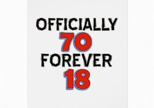 70 Year Old Birthday Cards Funny Designs Card Zazzle