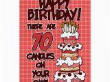 70 Year Old Birthday Cards Happy Birthday 70 Years Old Card Zazzle