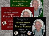 70 Year Old Birthday Invitations Birthday Party Invitations for 50 60 70 80 Year Old