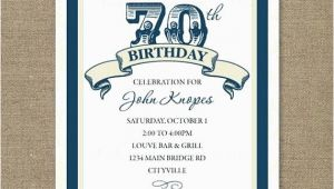 70 Year Old Birthday Invitations Birthday Party Invitations for On Colors Th Birthday