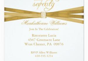70 Year Old Birthday Invitations Elegant 70th Party Zazzle Com