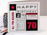 70th Birthday Cards for Him 70th Birthday Card You 39 Re 70 Card 70th Birthday Card for