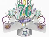70th Birthday Cards for Him Pop Up 70th Birthday Card Find Me A Gift