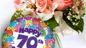 70th Birthday Flowers Delivered 70th Birthday Flowers and Balloon Available for Uk Wide