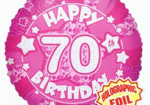 70th Birthday Flowers Delivered Pink Happy Balloon Easy Florist Supplies