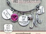 70th Birthday Gift Ideas for Her 70th Birthday Gift Milestone Birthday Gifts for Her Best