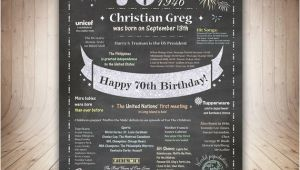 70th Birthday Gifts for Him 70th Birthday Gift for Him 70th Birthday Poster Dad by