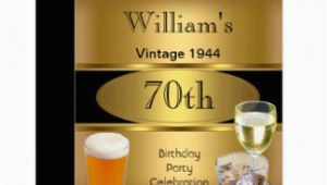 70th Birthday Gifts for Him Australia 70th Birthday Invitations Announcements Zazzle Com Au