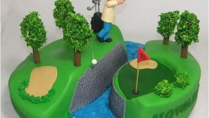 70th Birthday Gifts for Him Golf Golfing 70th Birthday Cake by Custom Cake Designs Cakes