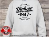 70th Birthday Gifts for Male Vintage 1947 70th Birthday 70th Birthday Gifts for Men 70th