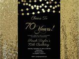 70th Birthday Invitation Card Sample 15 Golden Birthday Card Templates Free Premium Templates