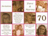 70th Birthday Invitations for Dad 70th Birthday Invite Invitations Pinterest 70