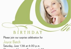 70th Birthday Invitations For Her 15 Design And Theme Ideas