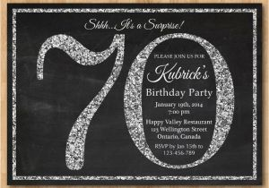 70th Birthday Invitations Wording Samples Party Templates