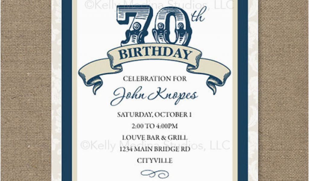 Download By SizeHandphone Tablet Desktop Original Size Back To 70th Birthday Invites Templates