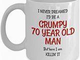 70th Birthday Presents for Him Amazon Com 70th Birthday Gag Gifts for Men Funny Mugs